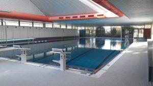 Hallenbad Waiblingen Neustadt nach der Renovierung 2019